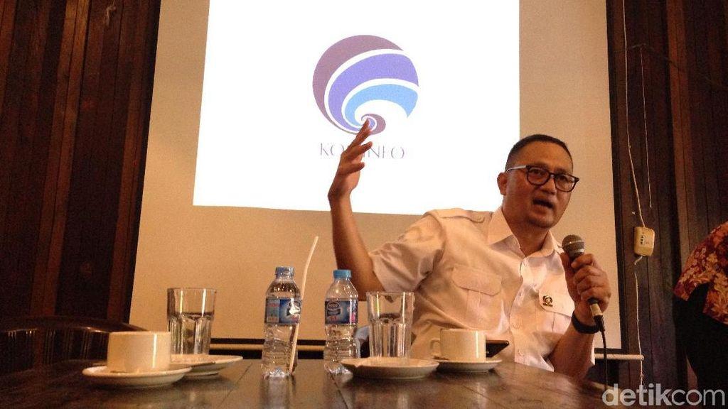 Kominfo Serahkan Sistem Pemantau Taksi Online ke Kemenhub