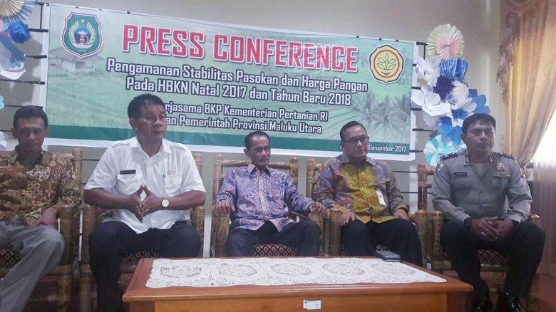 Jelang Natal & Tahun Baru, Stok Pangan di Maluku Aman