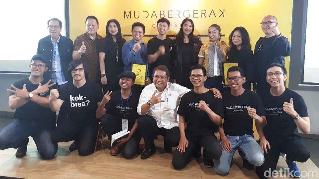Saatnya yang #MudaBergerak Membangun Indonesia