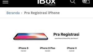 Ini Harga iPhone X dan iPhone 8 di Indonesia