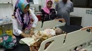 Derita Ilham, Bayi 4 Bulan di Riau yang Alami Tumor di Wajah