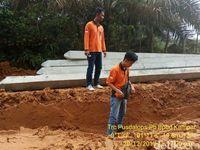 Ini Penampakan Jalan Jadi 'Bubur' saat Hujan di Kampar Riau