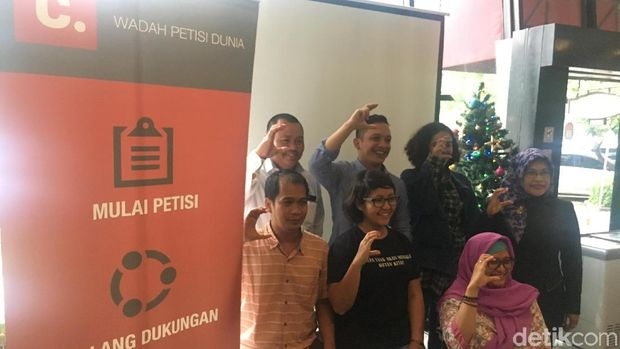 Jokowi Paling Banyak Jadi Sasaran Petisi Online