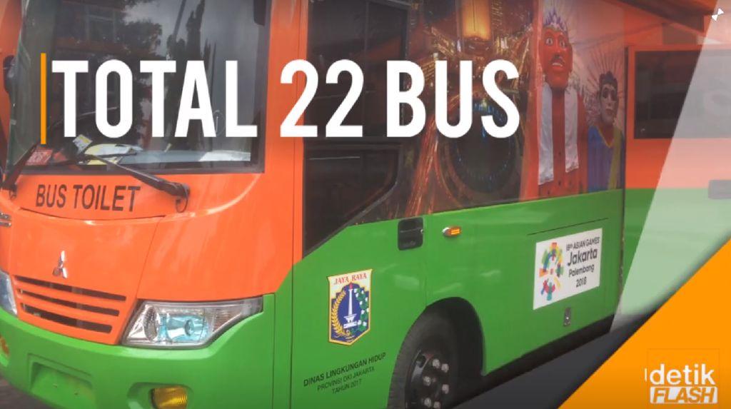 Melihat Bus Toilet VVIP untuk Asian Games 2018