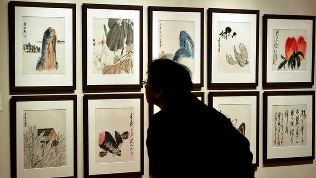 Terjual Rp 2 Triliun, Lukisan Tinta dari China Jadi Karya Termahal