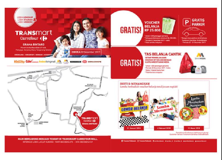 Serbu Promo di Grand Opening 3 Gerai Transmart Carrefour Ini