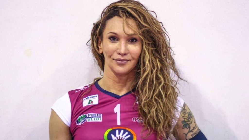 Transgender, Tiffany Abreu Dulu Main di Liga Voli Pria, Kini di Liga Wanita