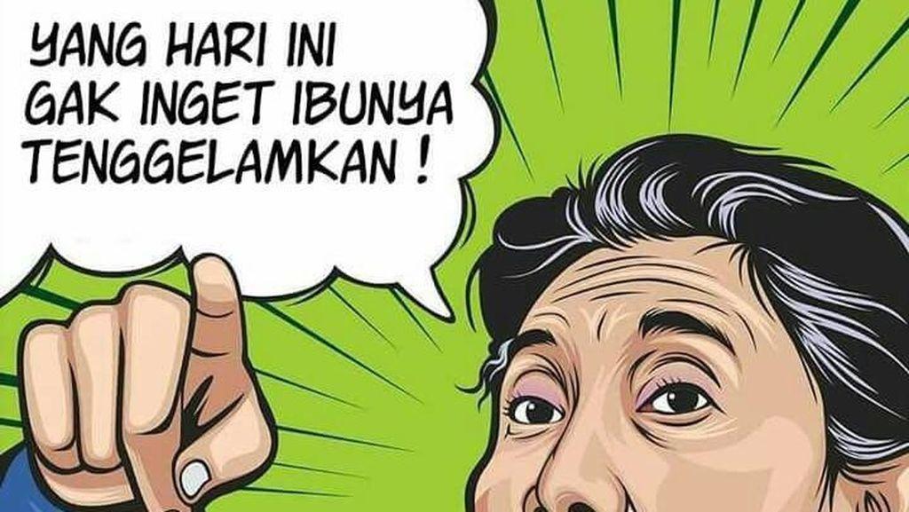 Menteri Susi Hingga TNI AU Ramai-ramai Berkicau Selamat Hari Ibu