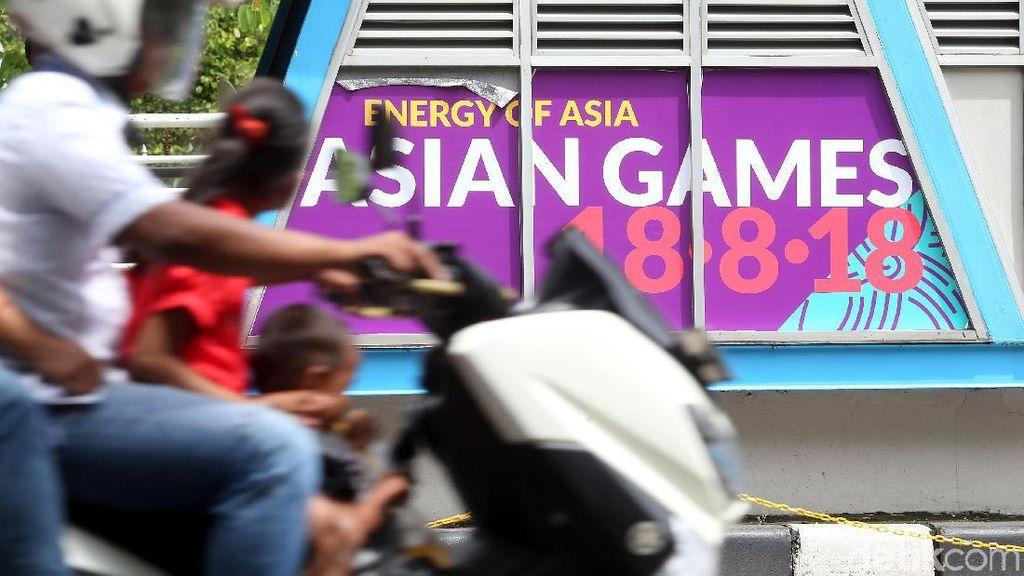 Terkait Test Event Asian Games, Belum Ada Pengalihan Arus Lalu Lintas