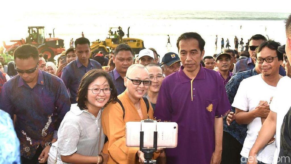 Harapan dari Kedatangan Jokowi ke Bali, Pasca Erupsi Gunung Agung
