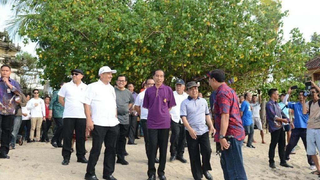 Ini Alasan Jokowi Cabut Status Tanggap Darurat Gunung Agung