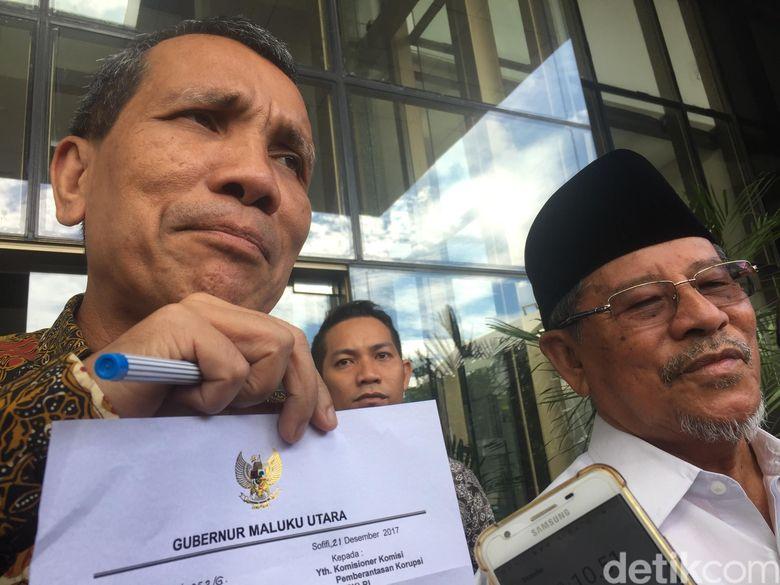 Ke KPK, Gubernur Malut Mengadu soal APBD yang Tak Kunjung Disahkan