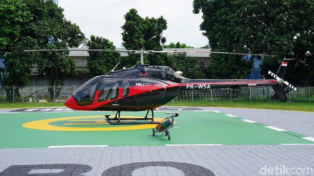 Mau Keliling Jakarta Naik Helikopter, Ini Harga Lengkapnya