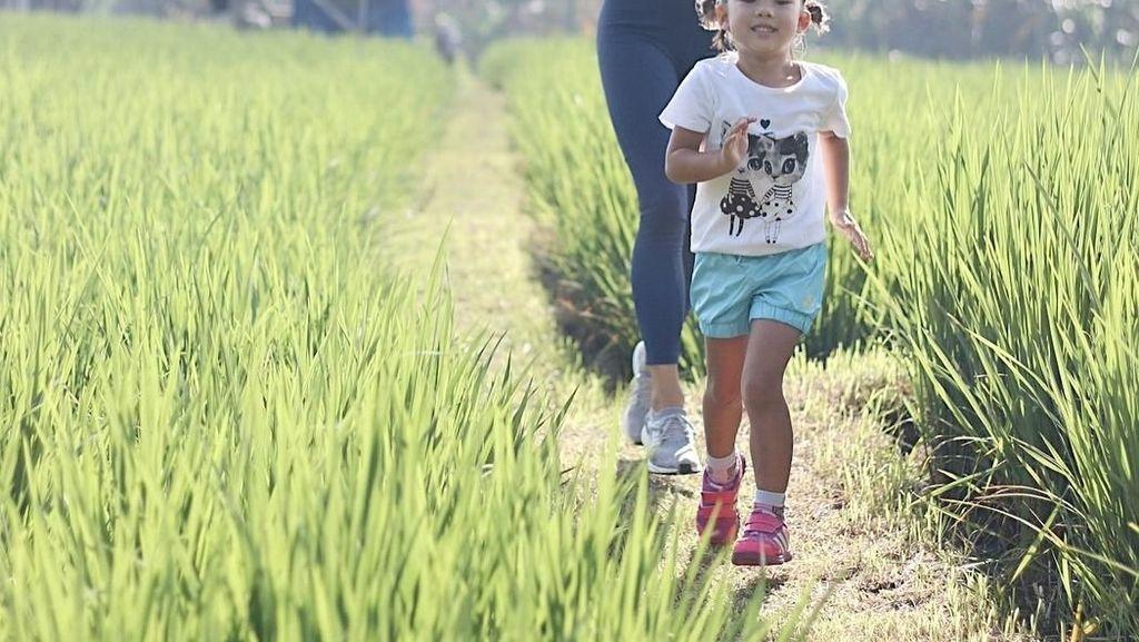 Andien Hingga Sarwendah, Celebrity Mom yang Rajin Olahraga Bareng Anak
