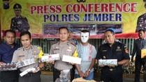 Polisi Jember Sita 15.600 Bungkus Rokok Tanpa Pita Cukai