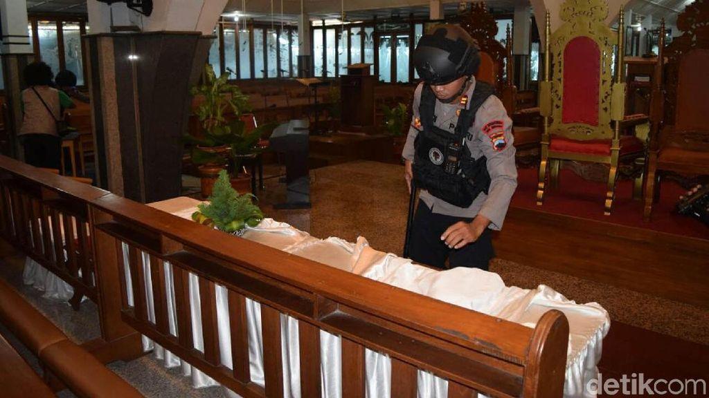 Jelang Natal, Polresta Surakarta Mulai Sterilisasi Gereja