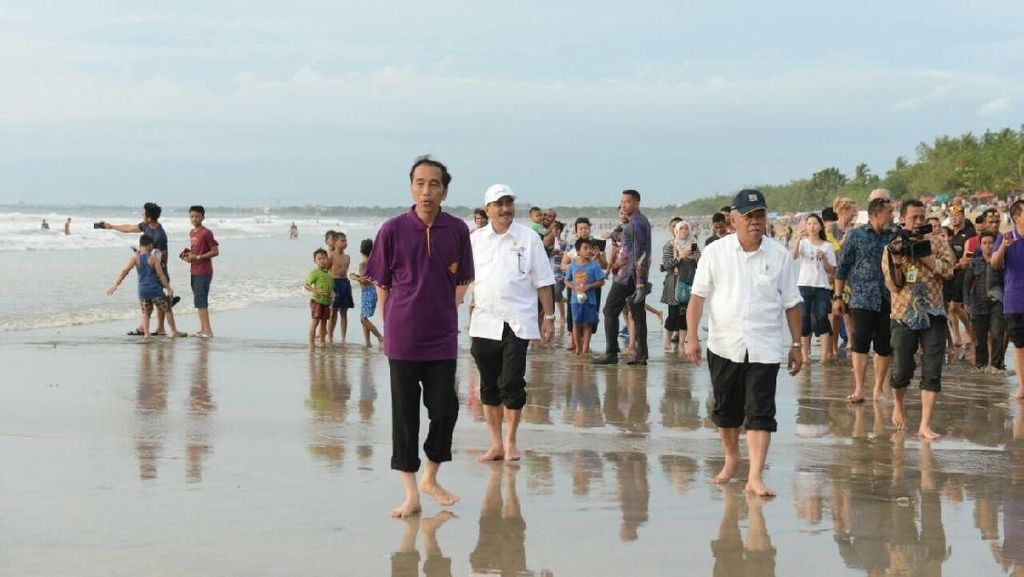 Ketika Presiden Jokowi Buktikan Bali Aman