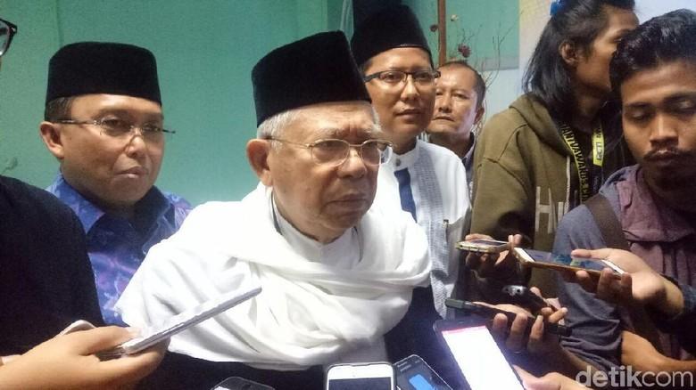 Maruf Amin: Kapolri Tak Bermaksud Menafikan Ormas Selain NU-Muhammadiyah