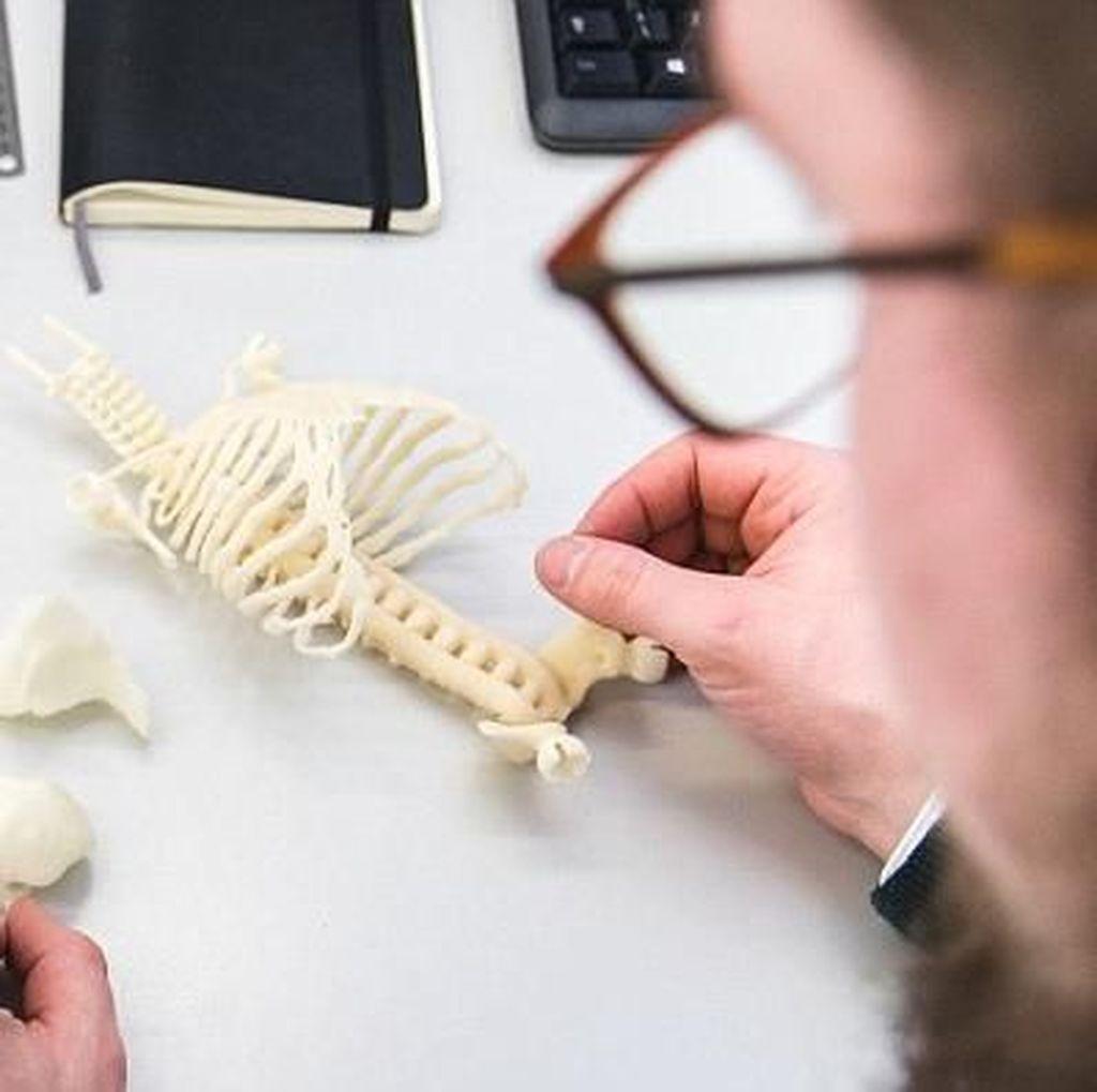 Objek Unik Cetakan Printer 3D, dari Bayi Hingga Suara Tawa