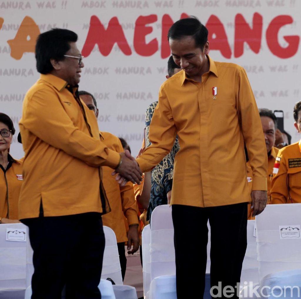 OSO Ngaku Tak Bicara ke Jokowi soal Hanura Pecah: Bukan Urusan Dia