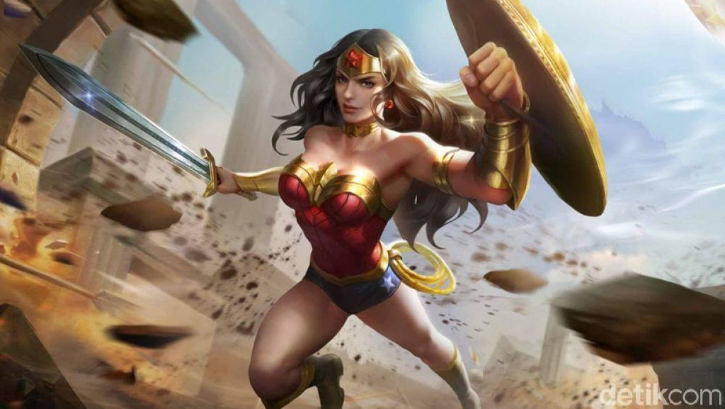 Wonder Woman Susul Batman dan Superman di AoV