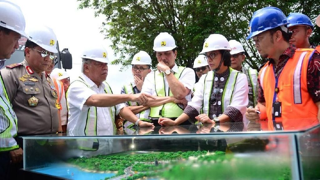 Dikebut, Proyek Underpass Ngurah Rai Dicek 3 Menteri Jokowi