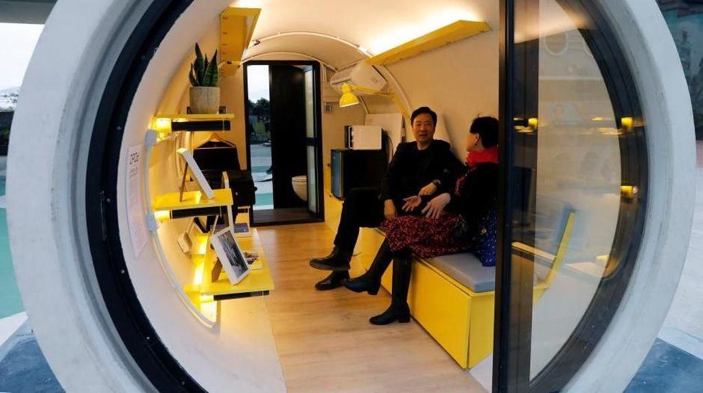 Di Hong Kong Ada Rumah Terbuat dari Pipa Lho