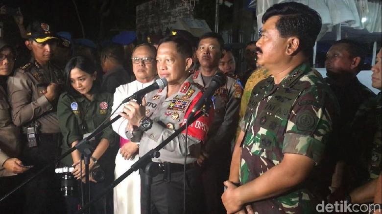 Panglima TNI: Kami Back Up Full Polisi Agar Natal Aman dan Lancar