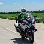 Moge BMW Jadi Tunggangan Polisi untuk Kawal Asian Games
