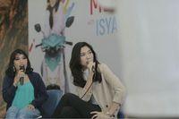 Brand ambassador Mio S Isyana Sarasvati saat meet & greet dengan fans dan konsumen Mio S di Bandung (Foto: dok. Yamaha Indonesia)