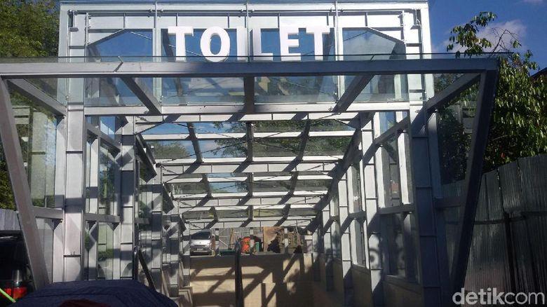 Toilet Mewah di Yogyakarta Belum Dioperasikan