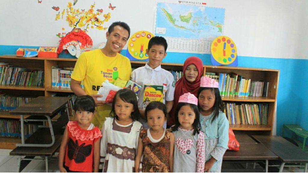 Di Sini Lahir Impian Agar Anak-anak Punya Minat Baca Tinggi
