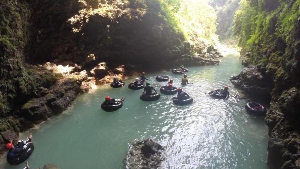 Libur Akhir Tahun, Wisata Cave Tubing Kalisuci Masih Tutup