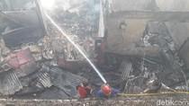 Gara-gara Setrika, 40 Rumah di Bogor Hangus Terbakar