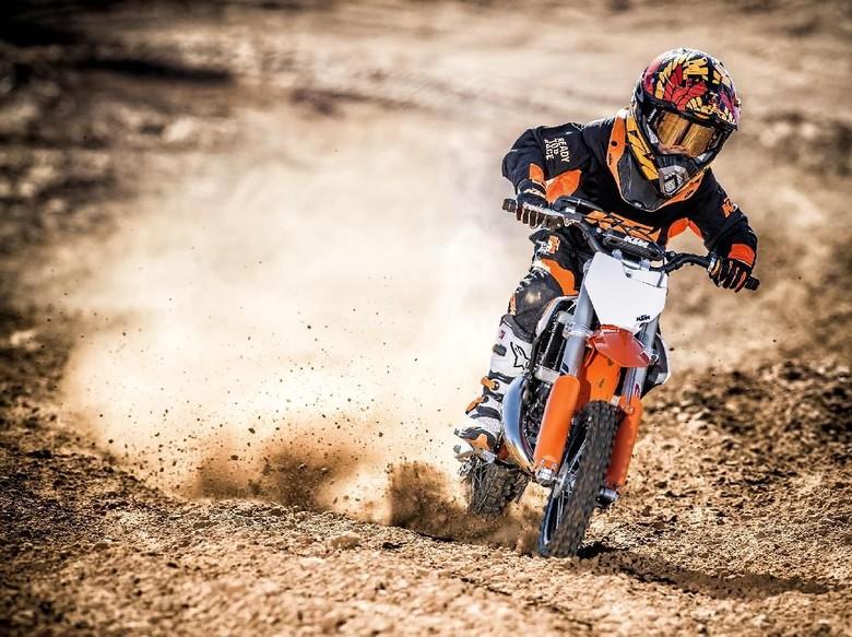 KTM Siapkan Motor Off-Road Listrik Mungil