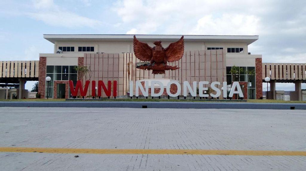 Potret Perbatasan NTT yang Dipercantik Jokowi