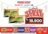 Tebus Murah Kentang Goreng Rp 18.900 di Transmart Carrefour