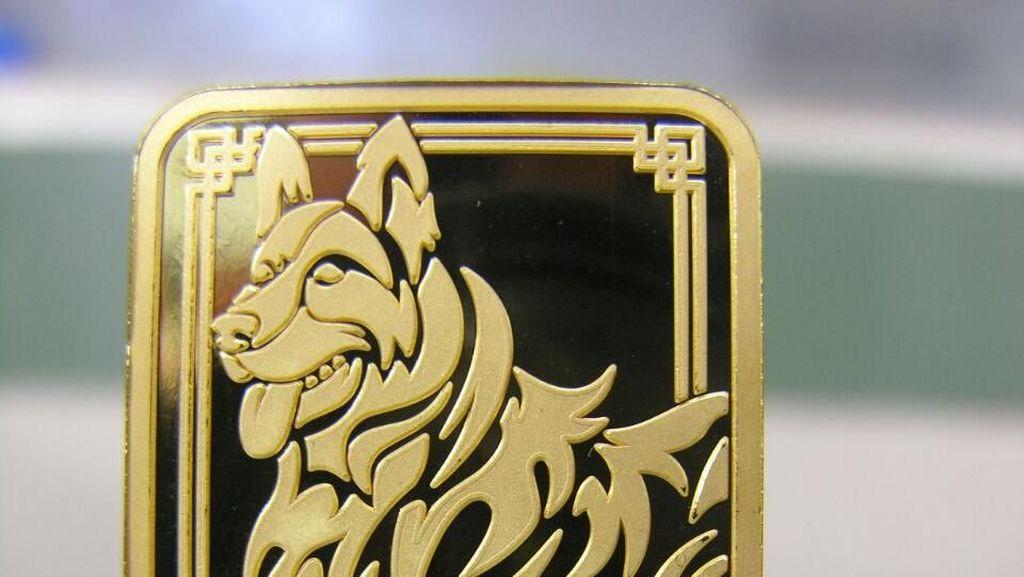 Terbatas, Emas Shio Anjing Tanah Cuma Dicetak 1.000 Keping