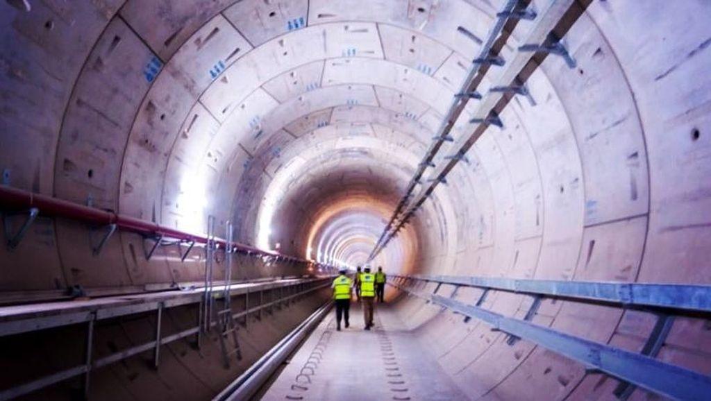 Hingga 2017, Konstruksi MRT Jakarta Capai 90%