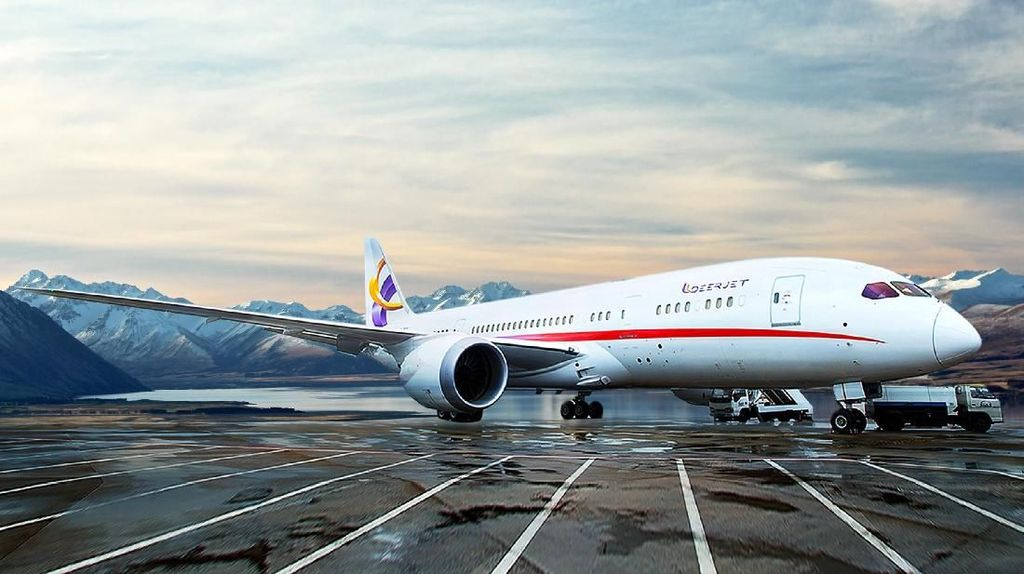Super Mewah! Boeing 787 Dreamliner Disulap Jadi Pesawat Pribadi