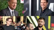 10 Aktor dengan Bayaran Tinggi 2017