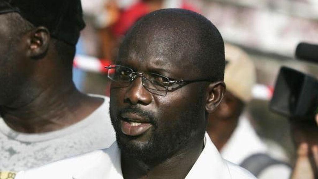 Eks Striker Milan dan PSG Ini Jadi Presiden Liberia