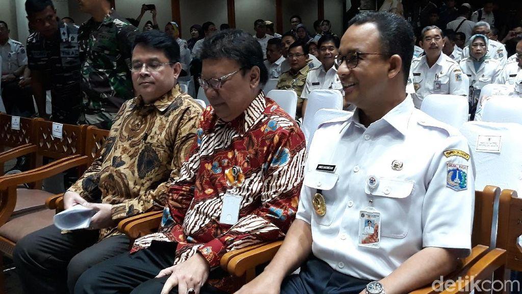 Anies Baswedan Kumpulkan Pejabat DKI Jakarta Bahas Program 2018