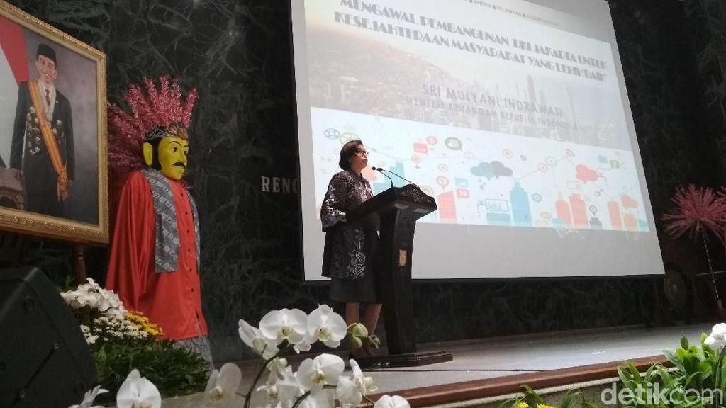 Di Depan Anies-Sandi, Sri Mulyani Singgung Anggaran Pendidikan DKI
