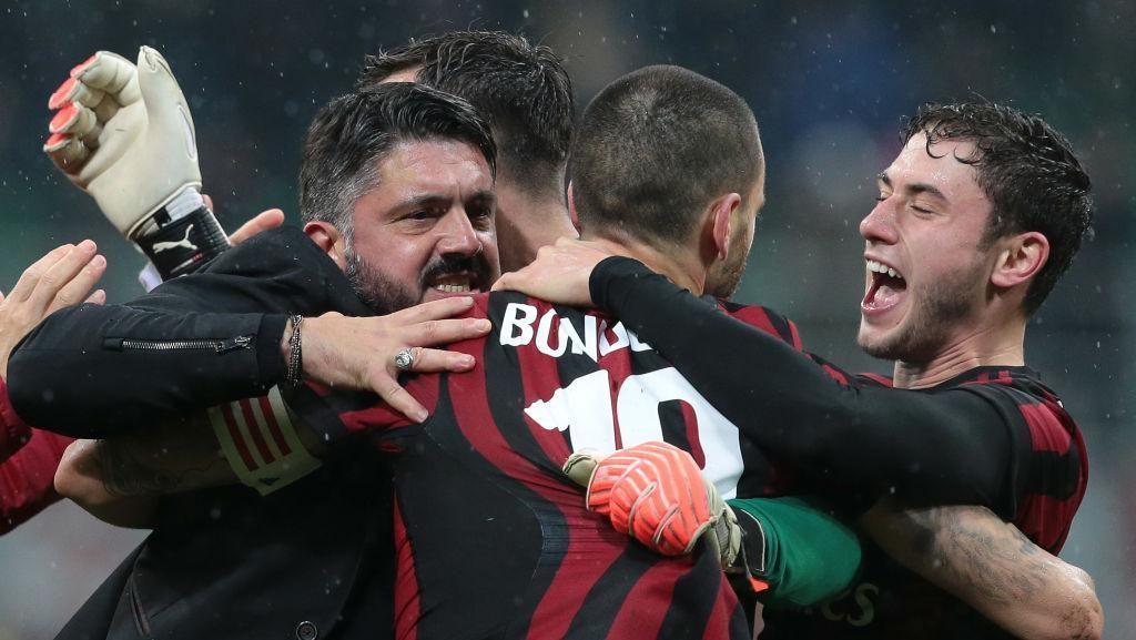 Milan Mulai Bangkit, Maldini Sanjung Gattuso