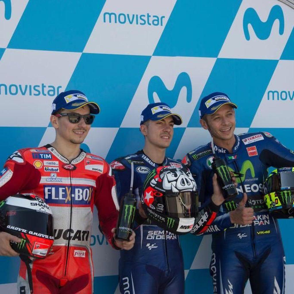 Prediksi tentang Lorenzo, Vinales, Zarco, dan Rossi di 2018