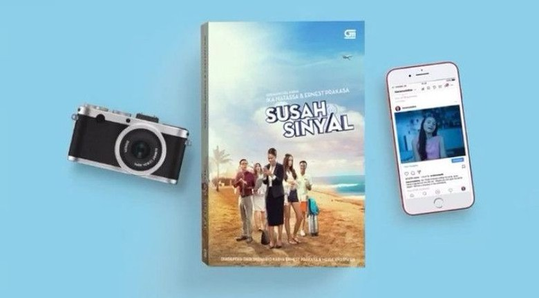Jatuh Cinta dengan Susah Sinyal, Ika Natassa Ungkap Alasan Garap Versi Novel