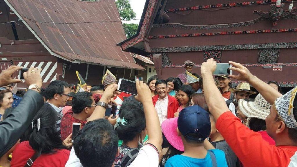 Usai Wisata ke Toba, Djarot Kembali ke Jakarta Siang Ini