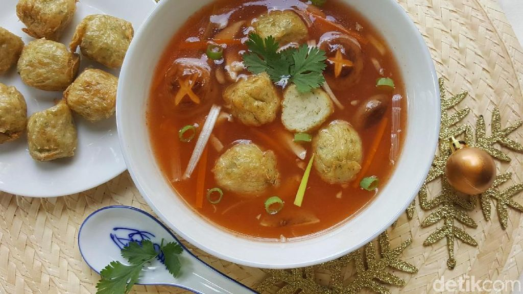 Resep Sup : Sweet Sour Soup with Fiesta Keecho