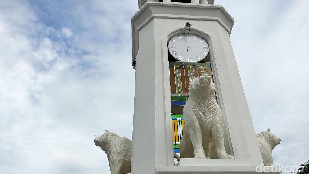 Ini Fungsi Tugu Maung Bandung yang Disebut Mirip Anjing Laut